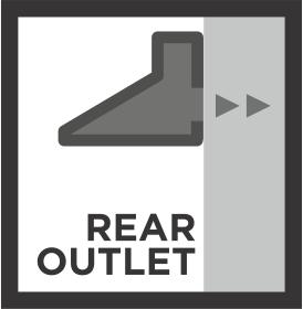 Rear Outlet