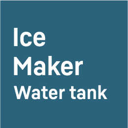 Ice Maker with Water Tank